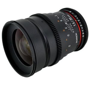 Rokinon 35mm T1.5 Cine Lens for Canon EF CV35-C