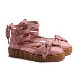 蝴蝶结 Creeper系带鞋