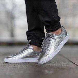 Amazon.com | PUMA Men's Basket Classic Holographic Fashion Sneaker | Fashion Sneakers
