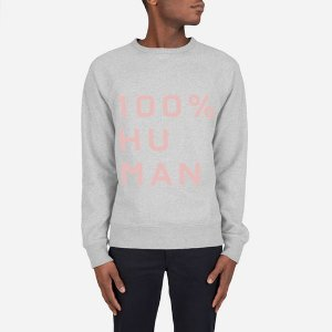 The Human Woman Unisex French Terry Sweatshirt in Large Print   Everlane
