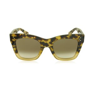 Céline CATHERINE CL 41090/S Acetate Cat Eye Women's Sunglasses