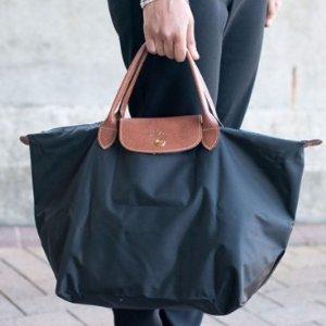 低至6.8折  收经典饺子包,高圆圆同款Longchamp 饺子包,双肩背等