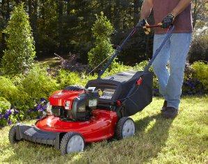 Troy-Bilt TB110 140-cc 21-in Residential Gas Push Lawn Mower with Mulching Capability