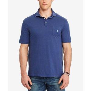 Polo Ralph Lauren Men's Big & Tall Jersey Polo - Polos - Men - Macy's