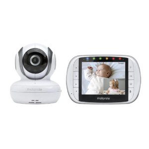 Motorola MBP36S Remote Wireless Video Baby Monitor 3.5