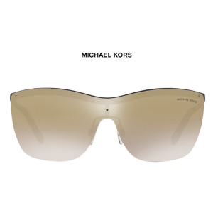 Michael Kors MK5005 39 PAPHOS, Blk Mat, Gld Mir Sunglasses