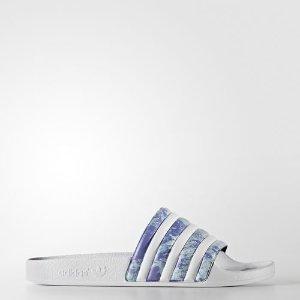 adidas adilette Slides - White