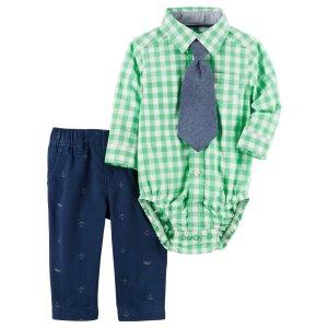 Baby Boy 3-Piece Dress Me Up Set | Carters.com