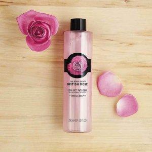 British Rose Bath Foam