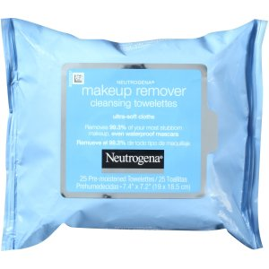 Neutrogena Makeup Remover Cleansing Towelettes Refill, 25 Ct  by Neutrogena