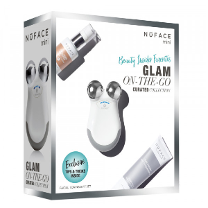 Nuface Glam On-The-Go Facial Toning Gift Set - b-glowing