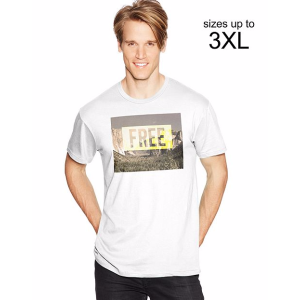 Men's Tee With Free Graphic | Style # 28325 | Hanes.com
