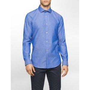 slim fit infinite cool optical circle shirt | Calvin Klein