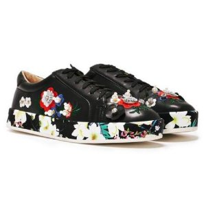 She Said Bloom Embellished Sneaker | Shop Clothes at Nasty Gal!