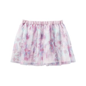 Kid Girl Floral Tulle Skirt | OshKosh.com