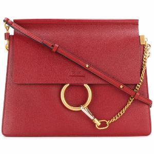 Faye Leather Shoulder Bag