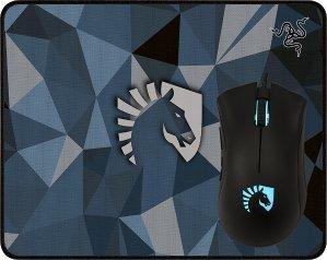 $34.99(原价$69.99)Razer Team Liquid 炼狱蝰蛇 幻彩版 鼠标 + 鼠标垫