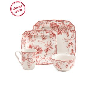 32pc Square Adelaide Dinnerware Set - Home - T.J.Maxx