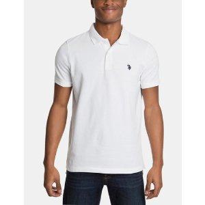 Pique Mesh Small Logo Polo Shirt - U.S. Polo Assn.