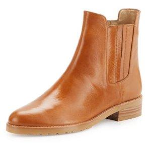 Stuart Weitzman Basilico Leather Chelsea Boot @ Bergdorf Goodman