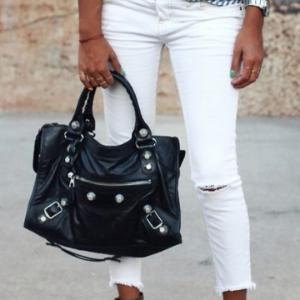Nano City Arena Leather Shoulder Bag