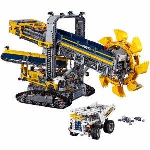 LEGO Technic Bucket Wheel Excavator 42055 - Walmart.com