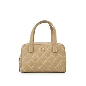 Chanel Quilted Calfskin Leather Bag