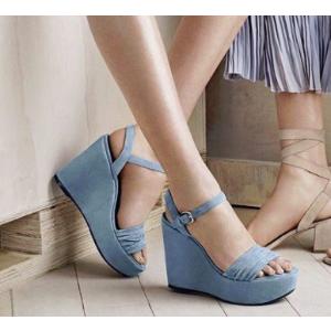 Sundraped Platform Wedges - Shoes | Shop Stuart Weitzman