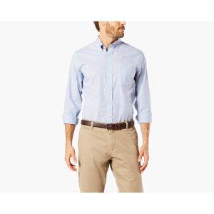 NO WRINKLE Shirt, Standard Fit | DELFT | Dockers® United States (US)