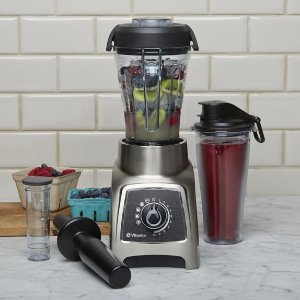 Vitamix S55 Personal Blender, Brushed Stainless | Williams Sonoma