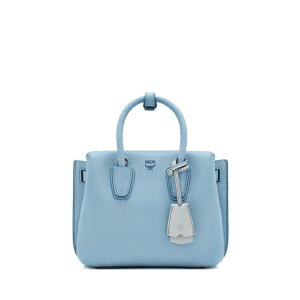 Mini Milla Tote in Grey by MCM