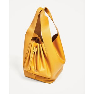 SOFT LEATHER BUCKET BAG - View all-BAGS-WOMAN | ZARA United States