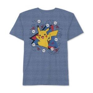 Pokémon Pikachu-Print T-Shirt, Little Boys (2-7)