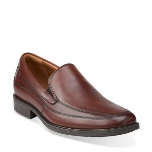 Tilden Free Brown Leather - Slip-on Dress Shoes for Men - Clarks® Shoes Official Site