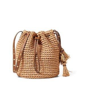 Straw Janice Bag - All Accessories � Women - RalphLauren.com