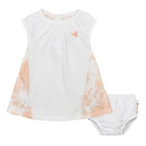 Ruffle Sleeve Dress Set