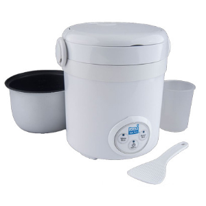 AROMA 3-Cups Cooked Digital Rice Cooker
