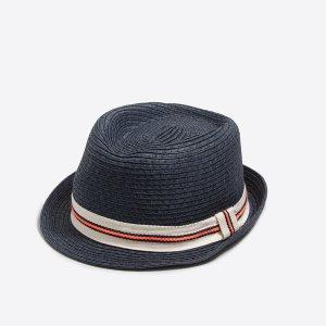 Kids' Ribbon Straw Fedora : Boys' Hats | J.Crew Factory