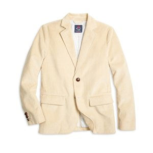 Boys' Khaki Corduroy Sport Coat | Brooks Brothers