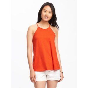 Relaxed High-Neck Y-Back Tank for Women | Old Navy