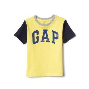 Logo colorblock short sleeve tee | Gap