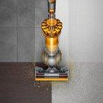 Dyson Ball Multi Floor 2 Upright Vacuum, Iron/Yellow