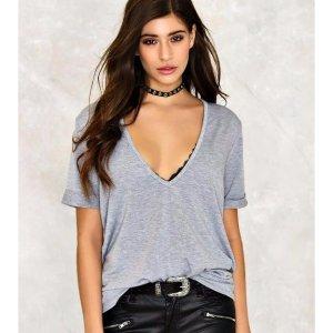 Riley Scoop Tee | Shop Clothes at Nasty Gal!