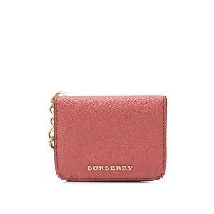 Burberry Soft Grain Haymarket Colour B Camberwell Card Case Charm