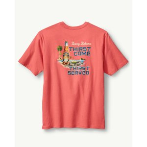 Tommy Bahama THIRST COME THIRST SERVED T-SHIRT