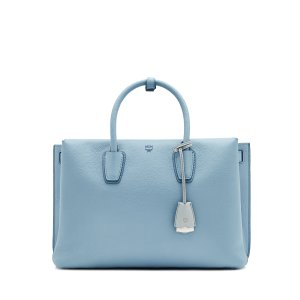 Large Milla Tote in Grey by MCM