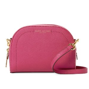 Marc Jacobs Playback Small Coated Leather Crossbody