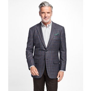 Madison Fit Multi-Check Sport Coat - Brooks Brothers