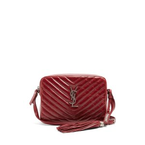 Lou quilted patent-leather cross-body bag | Saint Laurent | MATCHESFASHION.COM US