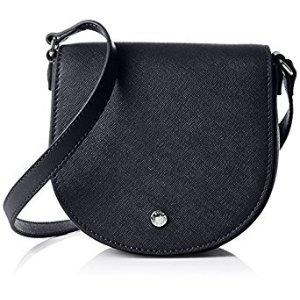 Amazon.com: ECCO Iola Small Saddle Bag, Navy Blue: Clothing
